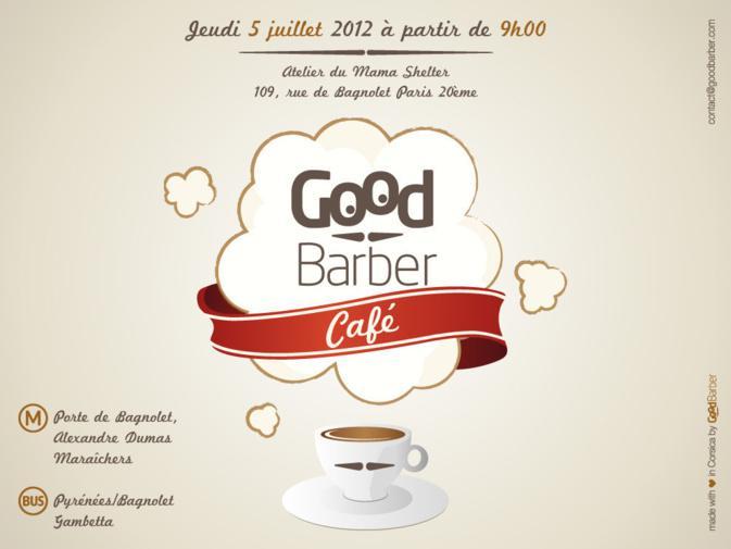 Café GoodBarber le jeudi 5 juillet à Paris