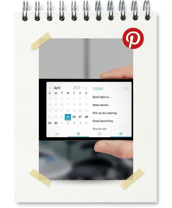 UI mobile : Pin de la semaine