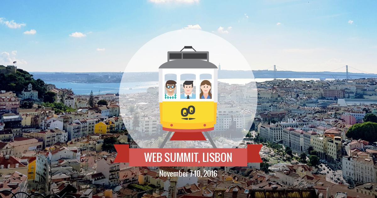 En route pour le Web Summit 2016 ! La team GoodBarber est prête