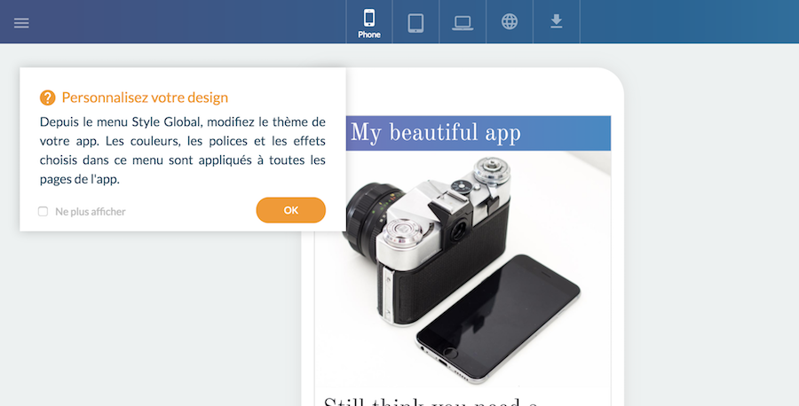 GoodBarber 4.5 : vitesse et productivité pour créer les apps du futur