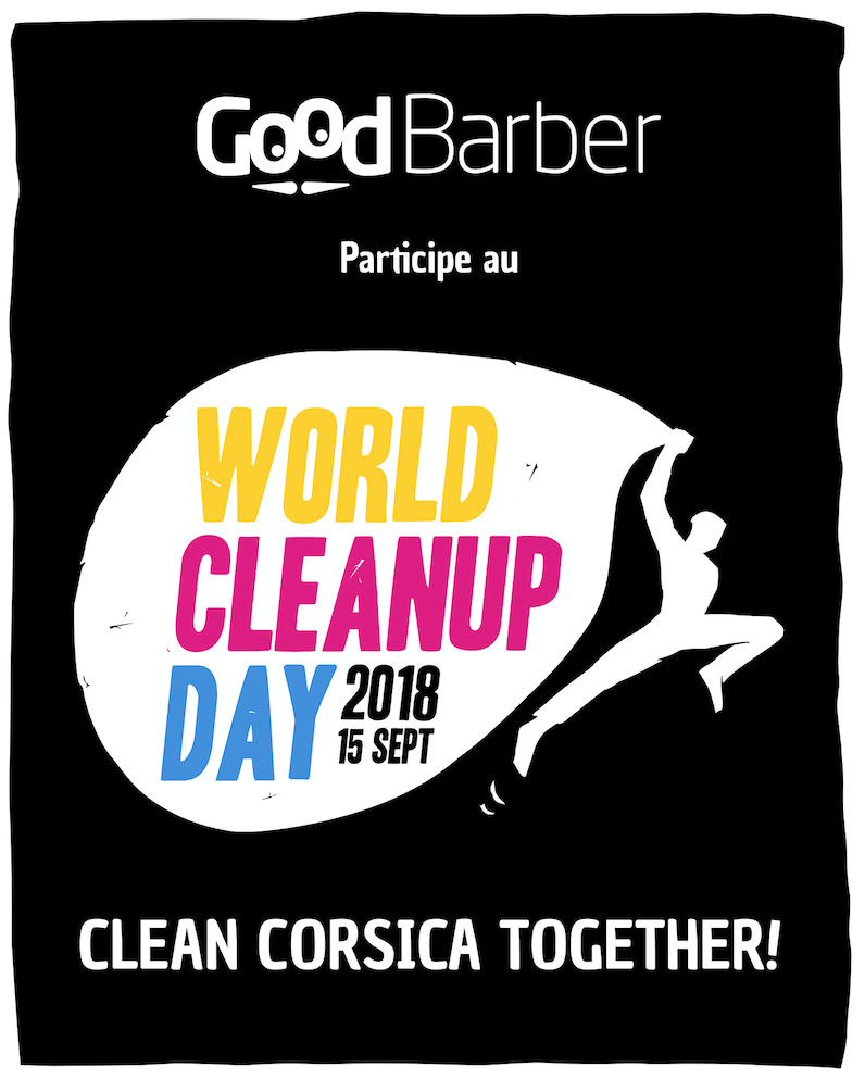 World Cleanup Day 2018 - GoodBarber participe au nettoyage de la planète