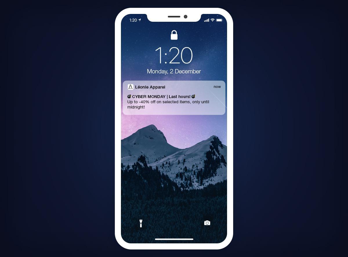 Cyber Monday - Comment se démarquer avec votre Shopping App