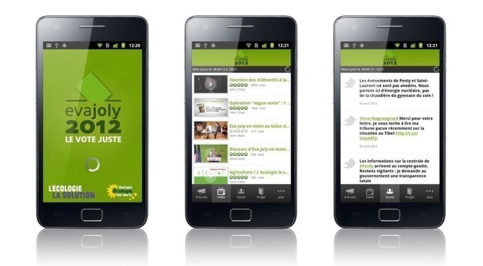 L'appli Android - Samsung Galaxy S2