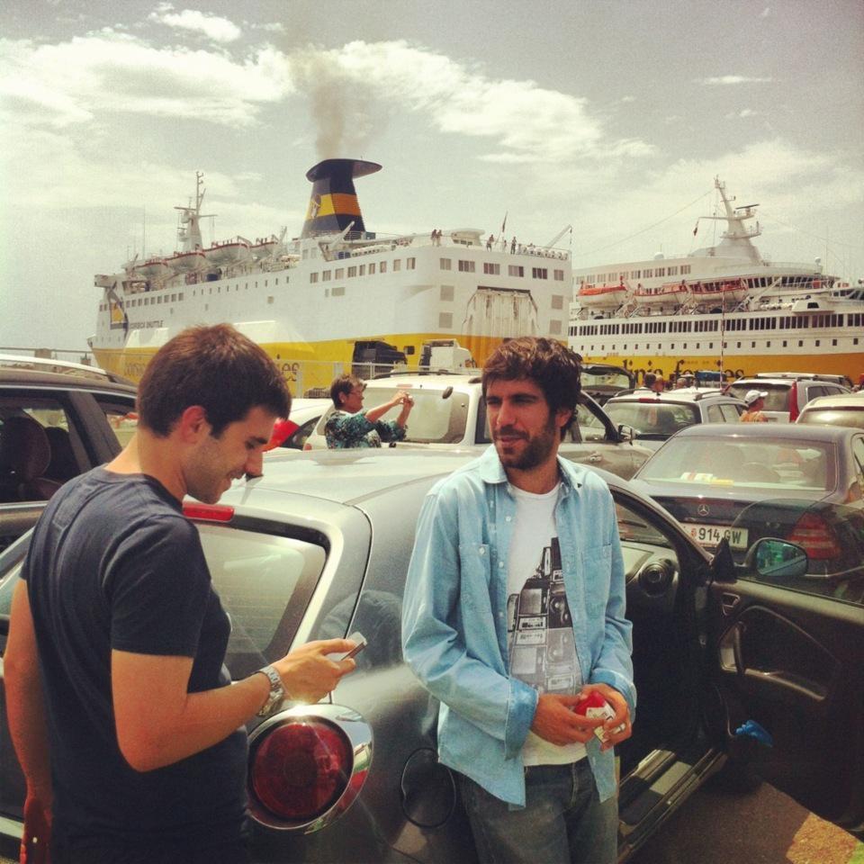 Sur le port de Bastia, en attendant l'embarquement @dsiacci @mathieuf