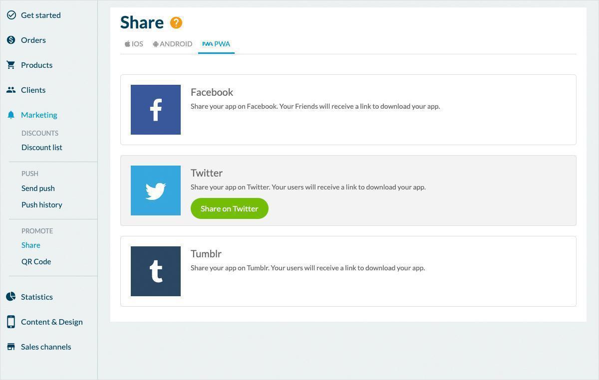 Comment créer une boutique en ligne avec une GoodBarber Shopping App