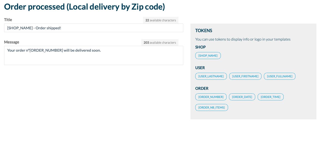 Comment créer votre propre application de « Livraison locale »