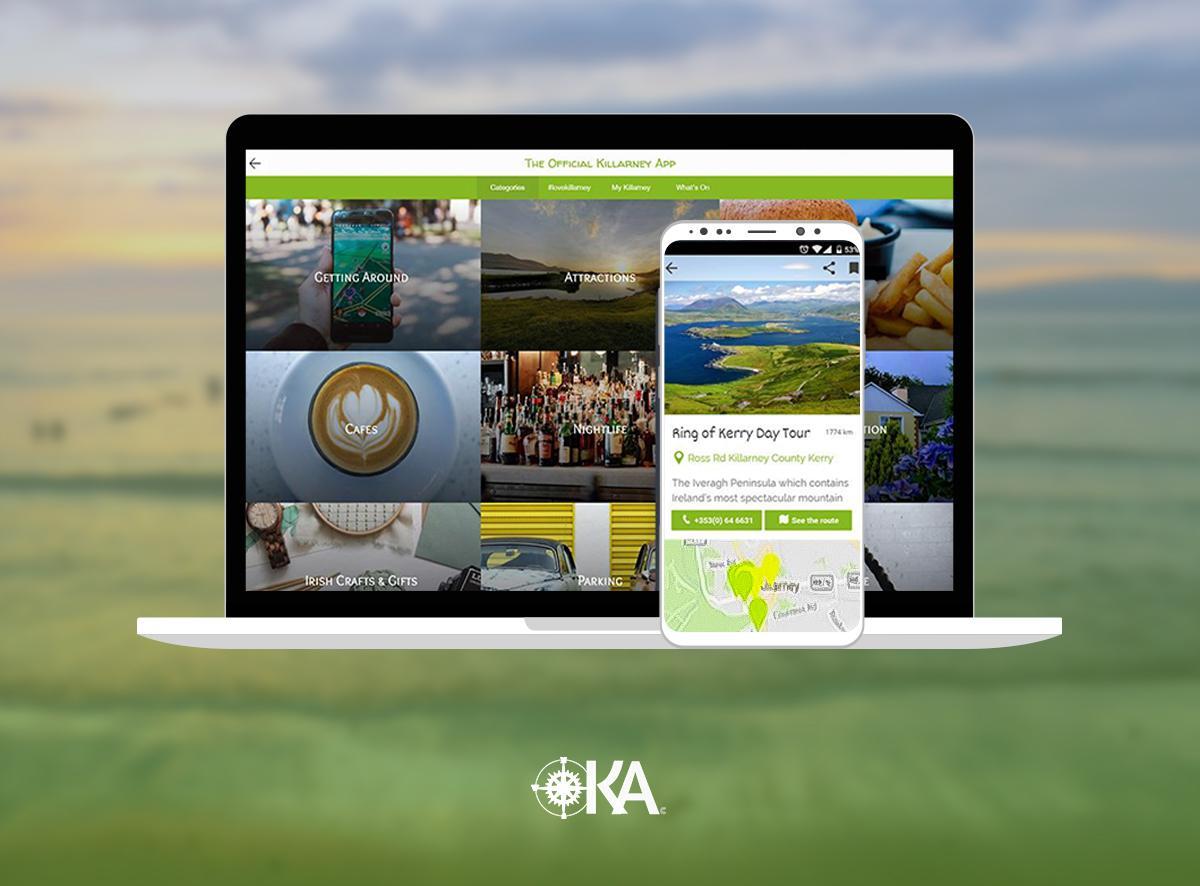 L'app officielle de Killarney (Irlande) - Mise à jour