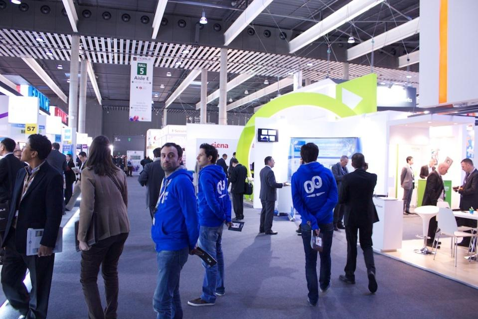 Premier jour au Mobile World Congress