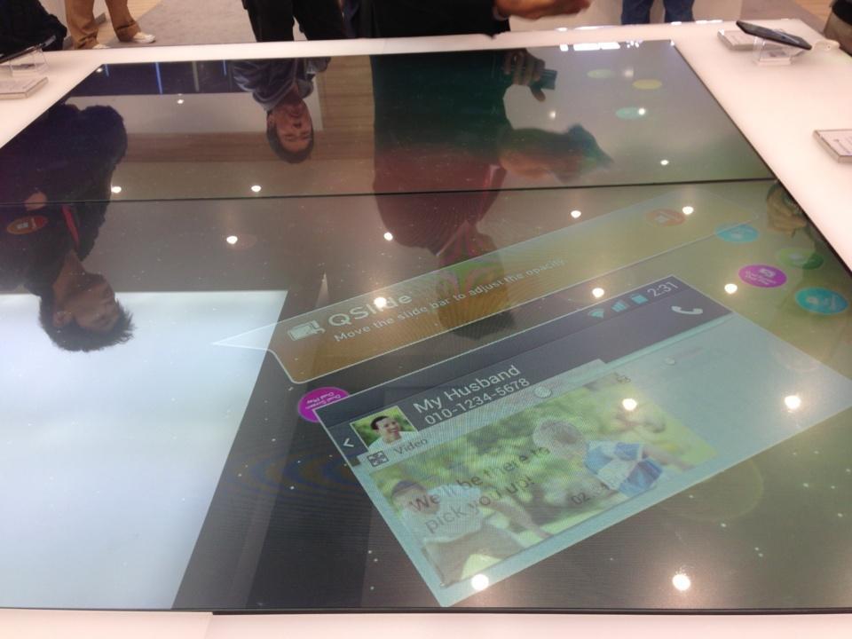 Enorme tablette LG