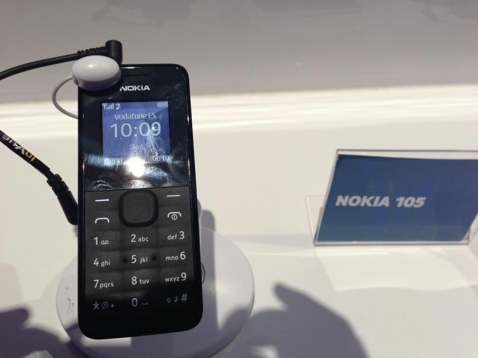 Je me demandais si c'était le plus vieux téléphone Nokia. réponse des hotesses :