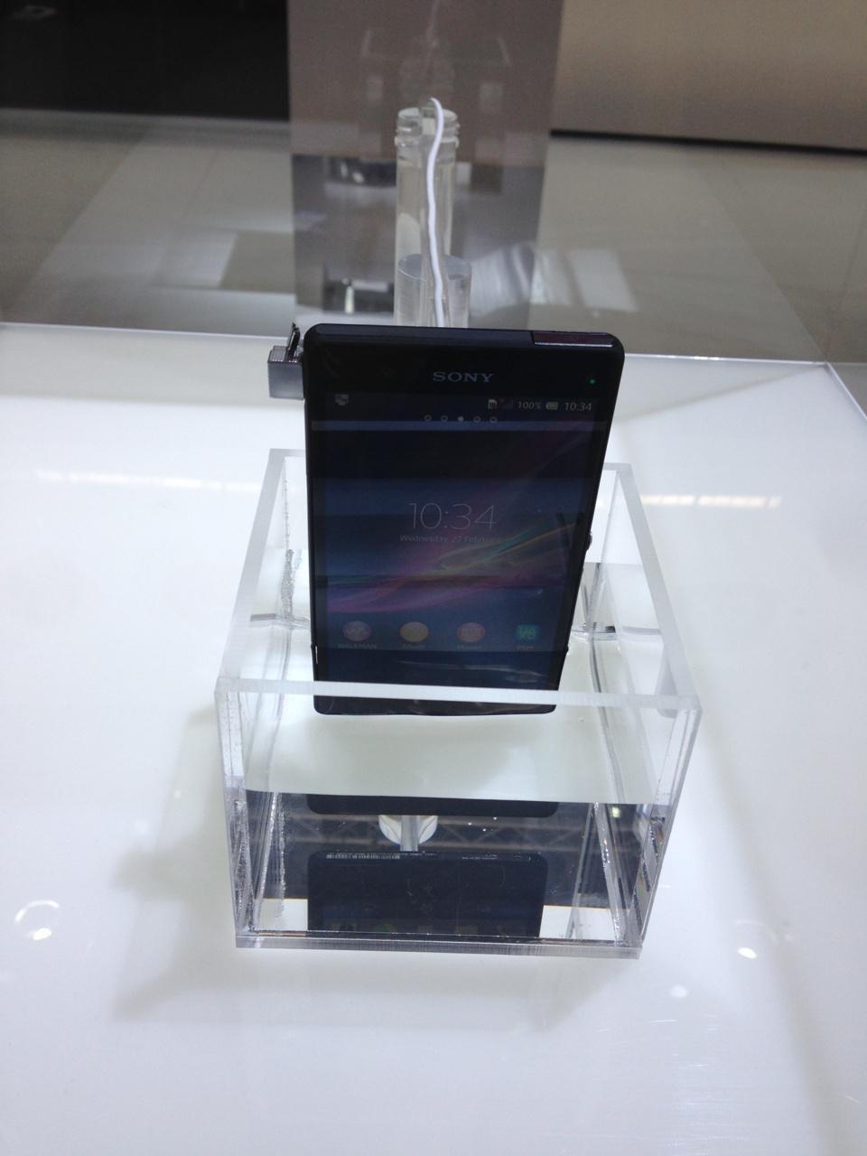 Sony Xperia Z. Etanche! Pour @seb2