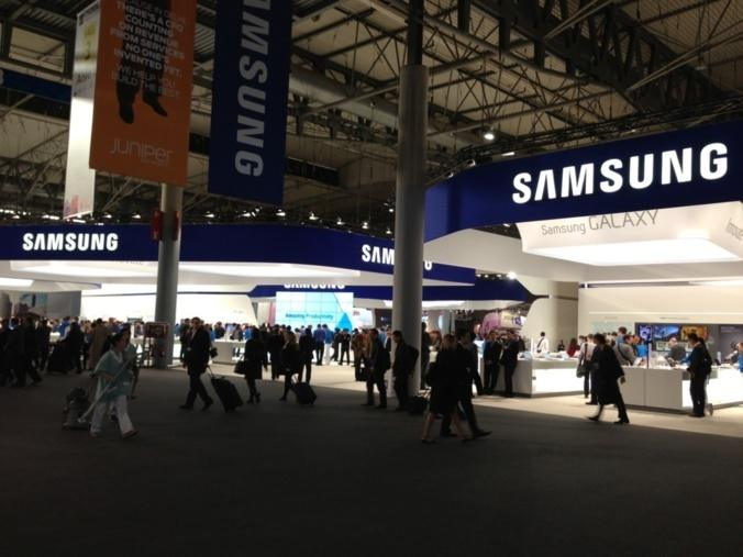 Quelques pas dans le hall 3 du Mobile World Congress