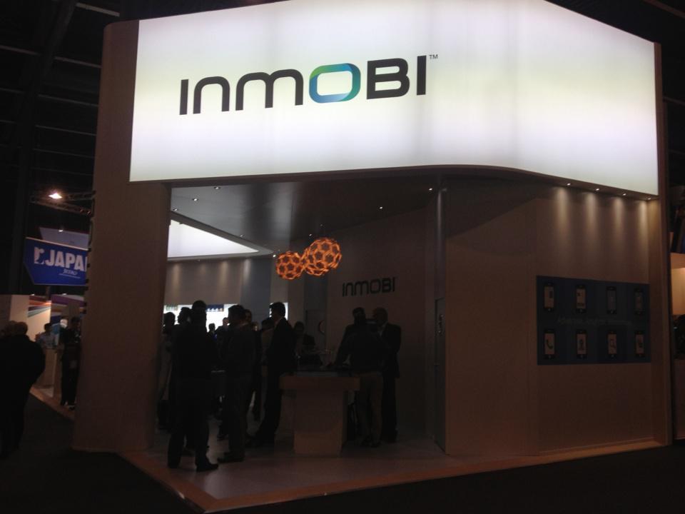 InMobi - Ma photo sombre a au moins le mérite de mettre leur logo en valeur