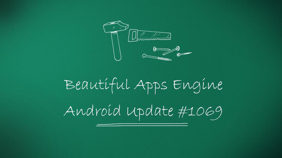Beautiful Apps Engine: Révision #1069