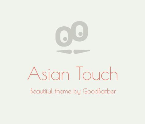 Nouveau thème : Asian Touch