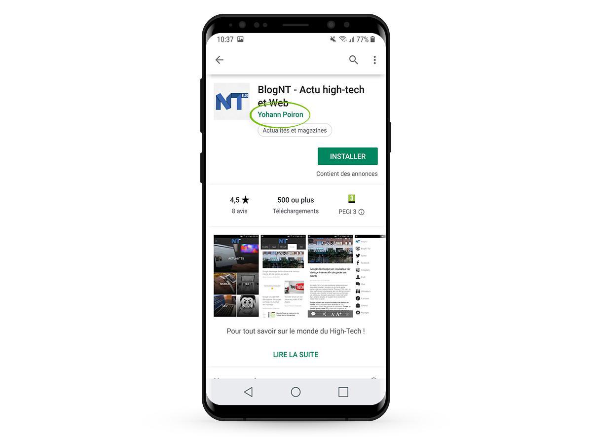 Blog NT - Actu high tech