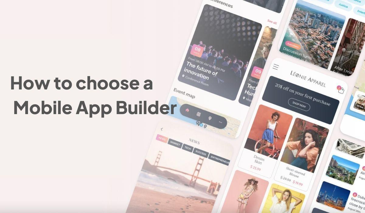 Comment choisir un app builder ?