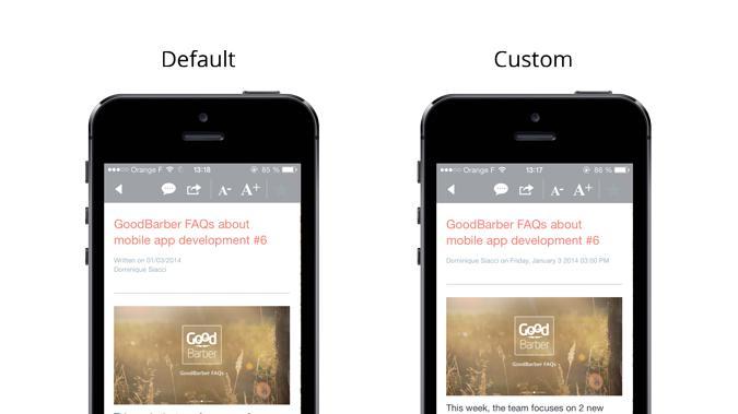 Découvrez comment utiliser la Settings API pour personnaliser votre app :)
