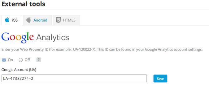 Comment activer le tracking Google Analytics dans votre application ?