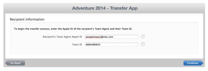 Sujet pour Ninjas GoodBarber : Transférez votre application iOS vers un autre Compte Développeur Apple
