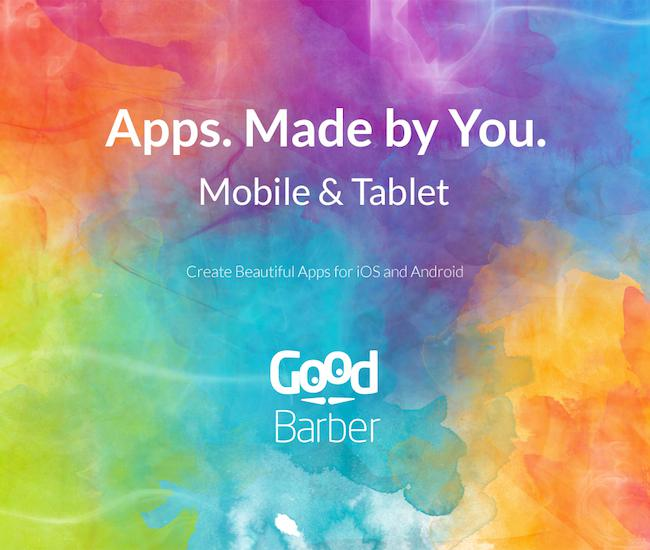 GoodBarber 3 est en ligne !