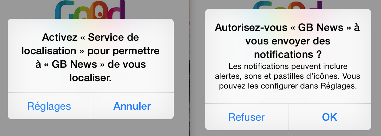 Permissions des Applications et Protection de la Vie Privée
