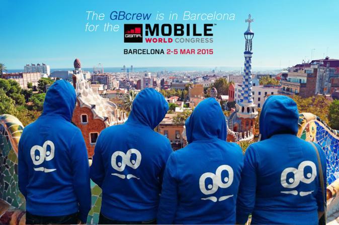 GoodBarber au Mobile World Congress à Barcelone