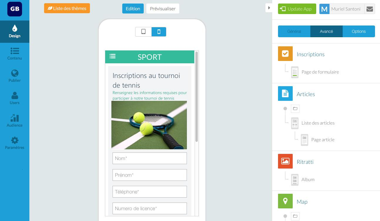 Comment insérer un formulaire dans votre app?