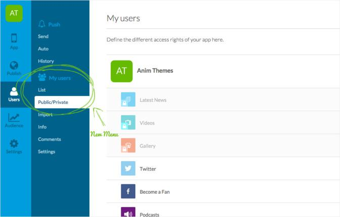 Activer le login In-App avec la nouvelle fonctionnalité d'authentification utilisateur de GoodBarber