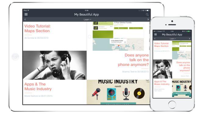 De nouveaux Beautiful Templates pour votre App!