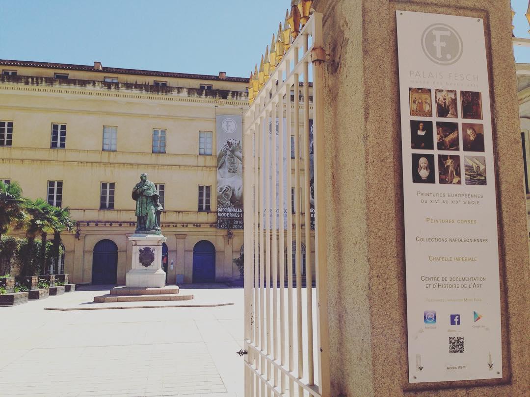 L'application du Musée Fesch à Ajaccio, by GoodBarber