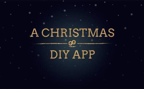 Comment nous avons créé une app de Noël : a Do It Yourself Christmas