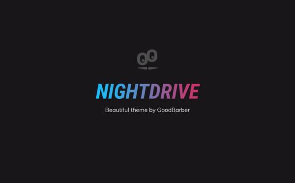Nouveaux thèmes GoodBarber 4.0 : Nightdrive