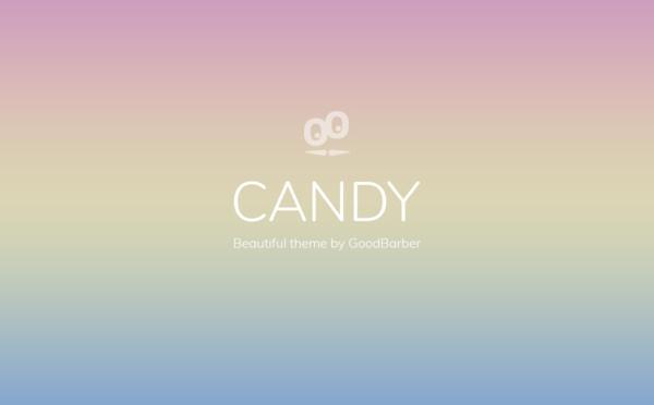 Nouveaux thèmes GoodBarber 4.0: Candy