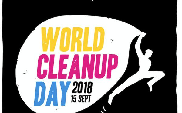 World Cleanup Day 2018 - GoodBarber participe au nettoyage de la planète