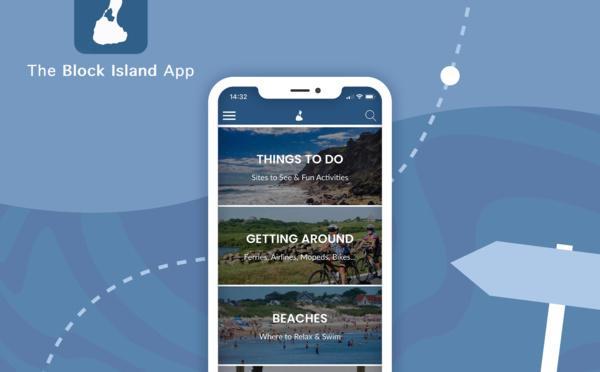 Block Island: un guide touristique complet, dans une app.