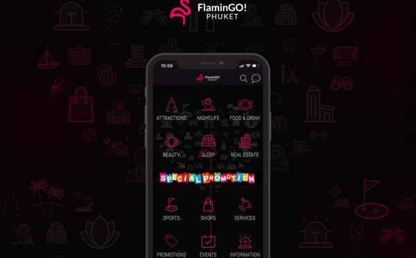 FlaminGo! App: Phuket dans votre poche