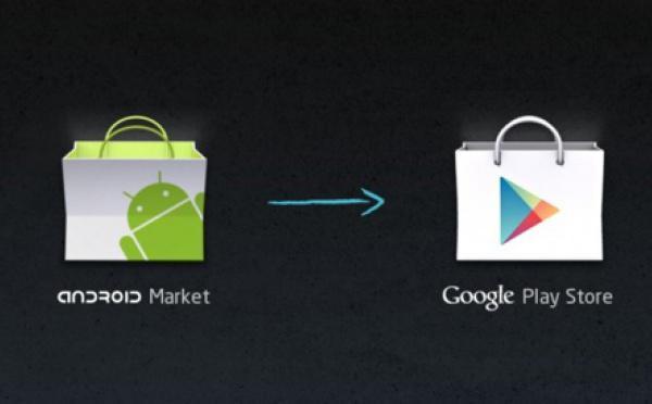 L'Android Market intégré à Google Play