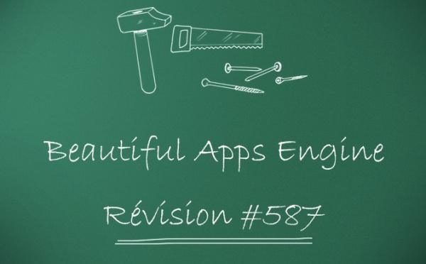 Beautiful Apps Engine: révision #587