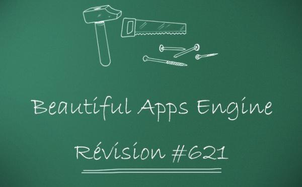 Beautiful Apps Engine: révision #621