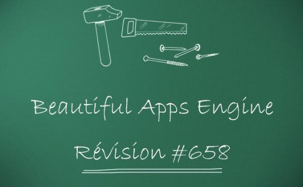 Beautiful Apps Engine: révision #658