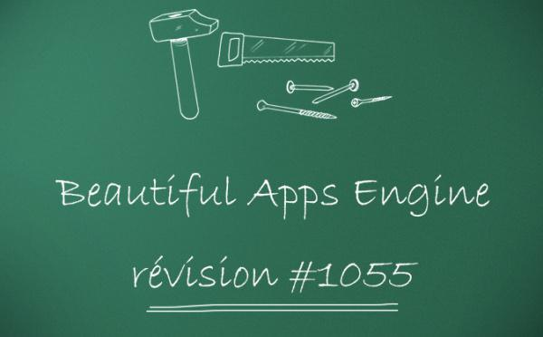 Beautiful Apps Engine: Révision #1055