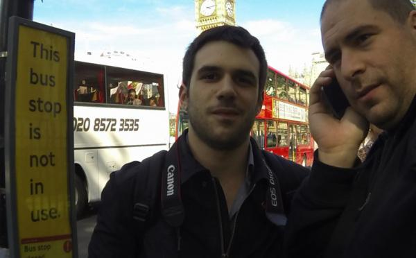 Nous venons d'arriver à Londres pour #LeWeb :)