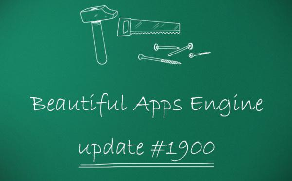 Beautiful Apps Engine : Révision #1900