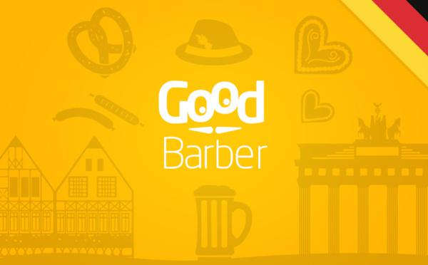 Guten Morgen! GoodBarber parle allemand