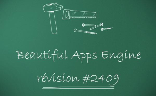 Beautiful Apps Engine : Révision #2409