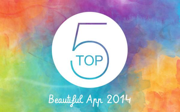 Top 5 des Beautiful App 2014