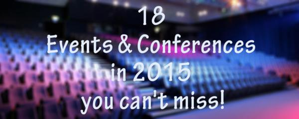 Les plus grands évènements de 2015