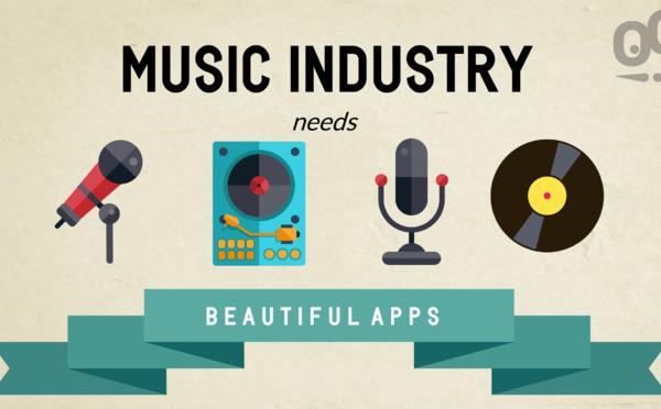 Les Apps & l'Industrie Musicale