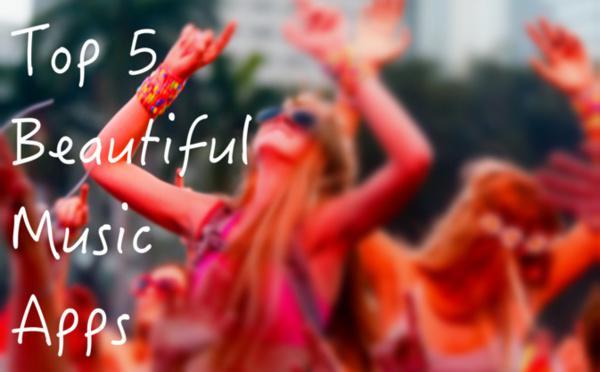 Top 5 des Apps Musicales